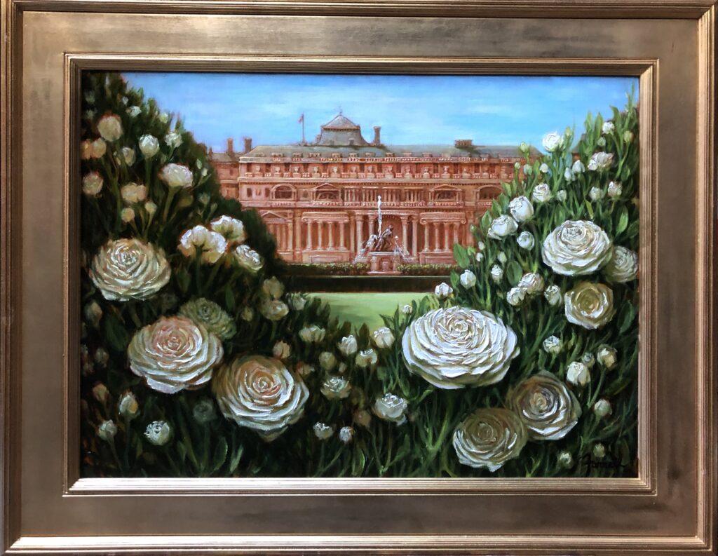 Jardins du Palais Royale (Paris Rose)