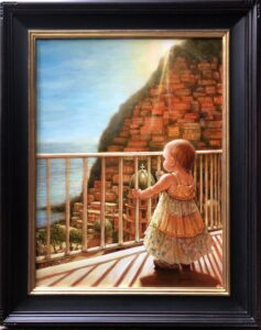 The World Ahead of You (Positano, Italy) , oil , 24 x 18 – SOLD